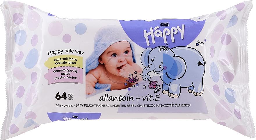 Feuchttücher mit Vitamin E, 64 St. - Bella Baby Happy Vit E & Allantoin