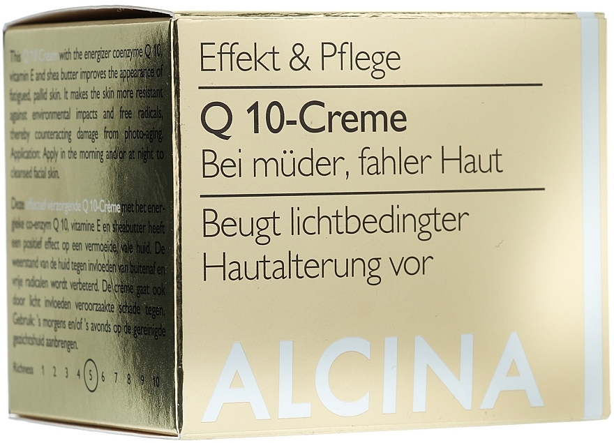 Gesichtscreme mit Q10 - Alcina Q 10 Creme