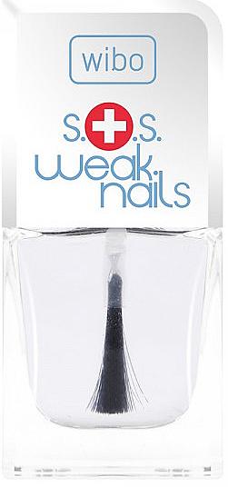 Nagelhärter mit Vitaminkomplex und Pflanzenextrakten - Wibo S.O.S. Weak Nails