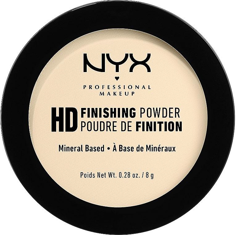 Mattierender langanhaltender Puder - NYX Professional Makeup High Definition Finishing Powder
