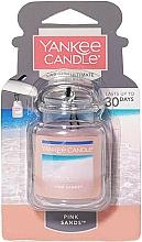 Düfte, Parfümerie und Kosmetik Auto-Lufterfrischer Pink Sands - Yankee Candle Car Jar Ultimate Pink Sands