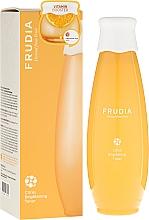 Düfte, Parfümerie und Kosmetik Aufhellendes Gesichtstonikum mit Mandarinenschalenextrakt und Vitamin C - Frudia Brightening Citrus Toner