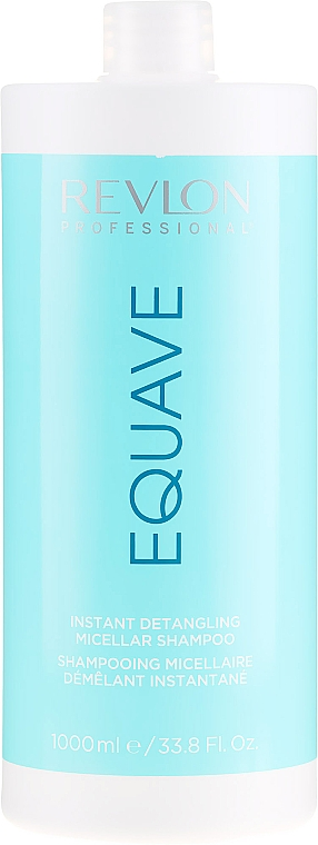 Feuchtigkeitsspendendes Shampoo für trockenes, behandeltes Haar - Revlon Professional Equave Instant Detangeling Micellar Shampoo