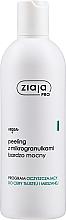 Düfte, Parfümerie und Kosmetik Sehr starkes Gesichtspeeling mit Mikrogranulaten - Ziaja Pro Very Strong Peeling With Microgranules