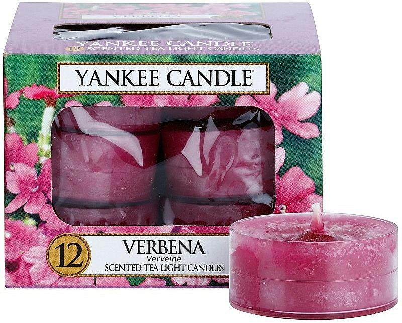 Teelichter Verbena - Yankee Candle Scented Tea Light Candles Verbena — Bild N1
