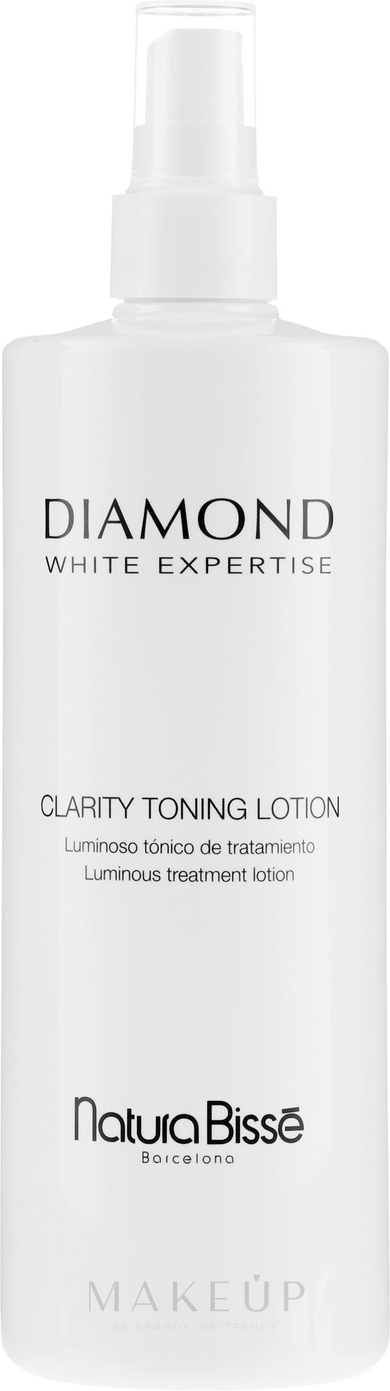 Reinigendes aufhellendes Gesichtswasser - Natura Bisse Diamond White Clarity Toning Lotion — Bild 200 ml