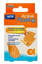 Düfte, Parfümerie und Kosmetik Pflaster gegen Schwielen mit Salicylsäure 4 St. - Ntrade Active Plast Special Corn-Cure Plasters For Cutting