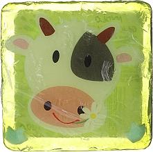 Düfte, Parfümerie und Kosmetik Glycerinseife für Kinder mit saftigem Birnenduft Kuh - Chlapu Chlap Glycerine Soap