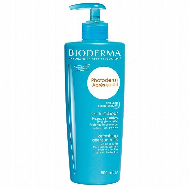 Erfrischende Körpermich nach dem Sonnenbad - Bioderma Photoderm Apres-soleil Refreshing After-sun Milk