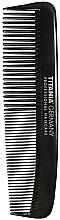 Düfte, Parfümerie und Kosmetik Taschenkamm für Männer 12.5 cm schwarz - Titania Havannah