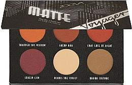 Düfte, Parfümerie und Kosmetik Lidschattenpalette - Zoeva Voyager Matte Eyeshadow Palette