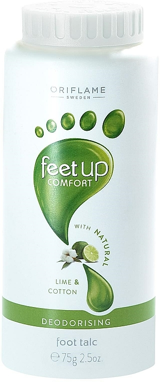 Aromatisierter Fußpuder - Oriflame Feet Up Comfort