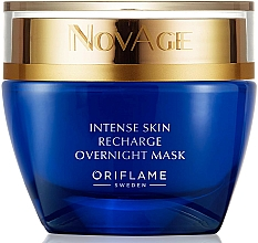 Düfte, Parfümerie und Kosmetik Intensive regenerierende Nachtmaske für Gesicht - Oriflame NovAge Intense Skin Recharge Overnight Mask