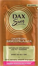 Düfte, Parfümerie und Kosmetik Selbstbräunungstuch - Dax Sun Handkerchief Self-Tanning Towelette