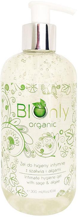 Bio Gel für die Intimhygiene mit Salbei und Algen - BIOnly Organic Intimate Hygiene Gel With Sage & Algae — Bild N1