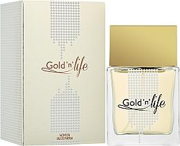 Düfte, Parfümerie und Kosmetik Vittorio Bellucci Gold'n'Life - Eau de Parfum