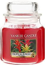 Düfte, Parfümerie und Kosmetik Duftkerze im Glas Tropical Jungle - Yankee Candle Tropical Jungle Jar