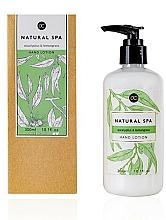 Düfte, Parfümerie und Kosmetik Aufweichende und feuchtigkeitsspendende Handlotion mit Eukalyptus und Zitronengras - Accentra Natural Spa Eucalyptus & Lemon Grass Hand Lotion