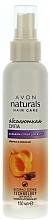 Düfte, Parfümerie und Kosmetik Spray Spülung für das Haar mit Pfirsich und Sheabutter - Avon