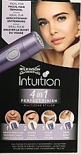 Düfte, Parfümerie und Kosmetik 4in1 Elektrischer Trimmer zur Gesichtshaarentfernung - Wilkinson Sword Intuition 4in1 Perfect Finish Multizone Styler