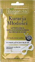 Düfte, Parfümerie und Kosmetik Lifting-Maske für die Haut rund um die Augen mit Schneckenschleimextrakt - Bielenda Kuracja Mlodosci Eye Mask