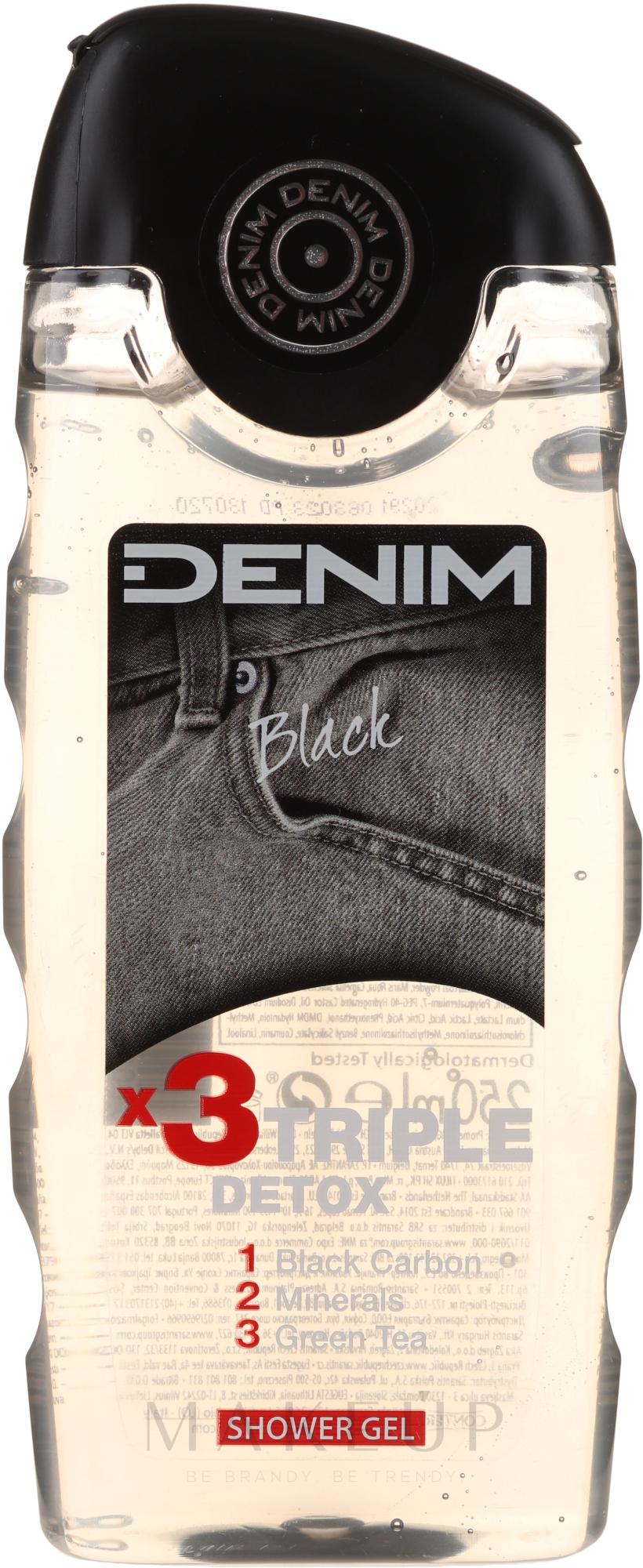 Duschgel - Denim Black Shower Gel — Bild 250 ml