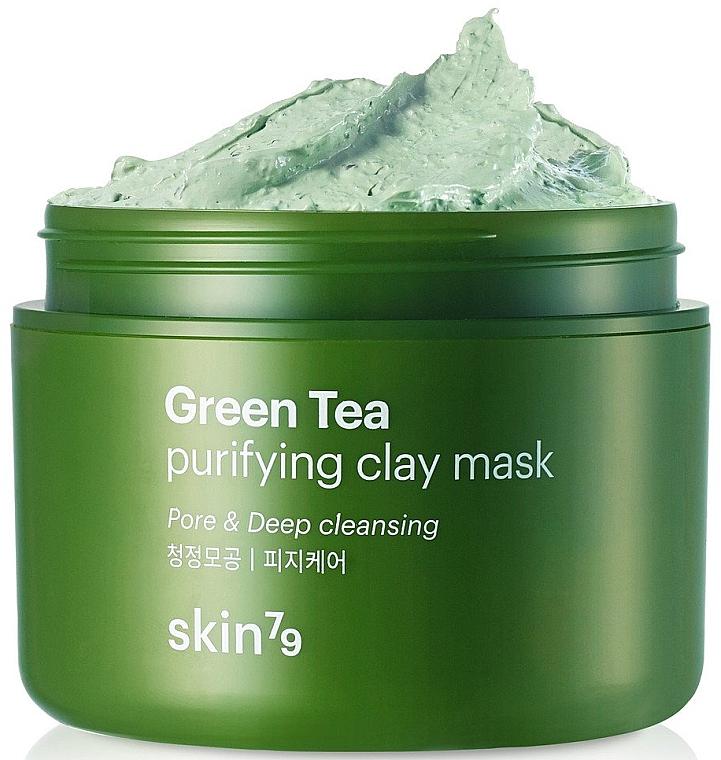Gesichtsreinigungsmaske mit Tonerde - Skin79 Green Tea Purifying Clay Mask — Bild N1