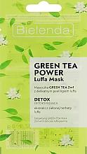 Düfte, Parfümerie und Kosmetik Detox-Peelingmaske für das Gesicht mit grünem Tee und Luffa - Bielenda Green Tea Power Luffa Mask 2in1