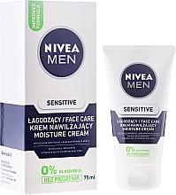 Düfte, Parfümerie und Kosmetik After Shave Balsam für empfindliche Haut - Nivea For Men Sensitive Moisture Cream