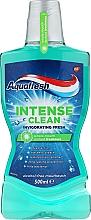 Düfte, Parfümerie und Kosmetik Mundwasser - Aquafresh Intense Clean Invigorating Freshness