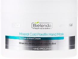 Düfte, Parfümerie und Kosmetik Mineralmaske für die Hände mit kaltem Paraffin - Bielenda Professional Mineral Cold Paraffin Hand Mask