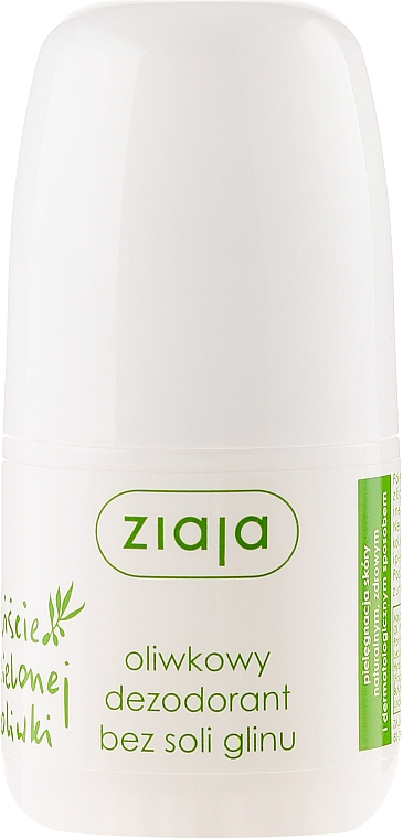 Deo Roll-on Antitranspirant - Ziaja Olive Leaf Roll On Anti-perspirant Without Aluminium Salt
