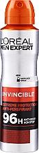 Düfte, Parfümerie und Kosmetik Deospray Antitranspirant - L'Oreal Paris Men Expert Invincible 96 Hours Deodorant Spray