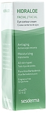 Feuchtigkeitsspendende Anti-Aging Augenkonturcreme mit Aloe - SesDerma Laboratories Hidraloe Eye Contour Cream — Bild N2