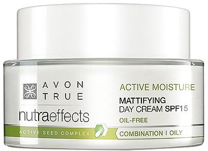 Mattierende Tagescreme SPF 15 - Avon True Nutra Effects — Bild N1