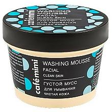 Düfte, Parfümerie und Kosmetik Gesichtsreinigungsmousse mit Salbei-Extrakt und blauer Tonerde für reine Haut - Cafe Mimi Washing Mousse Facial Clean Skin