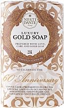 Düfte, Parfümerie und Kosmetik Luxuriöse Naturseife mit Gold - Nesti Dante Vegetable Luxury Gold Soap 23K Limited Edition