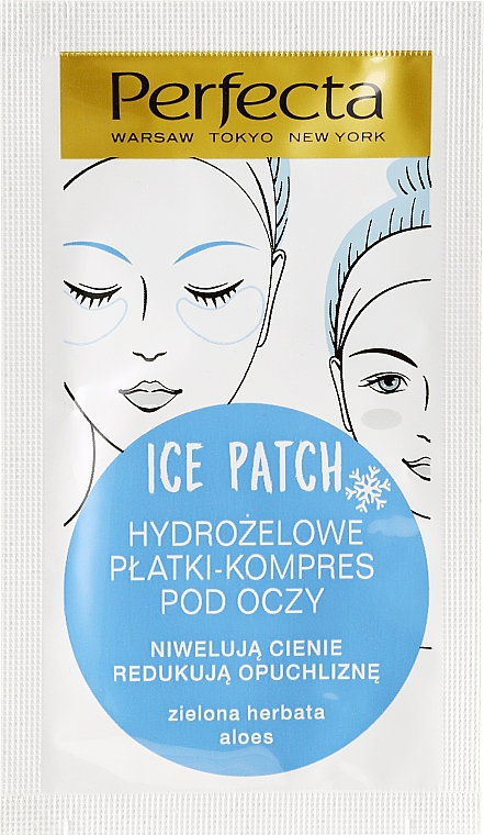 Hydrogel Augenpatches - DAX Perfecta Ice Eye Patch