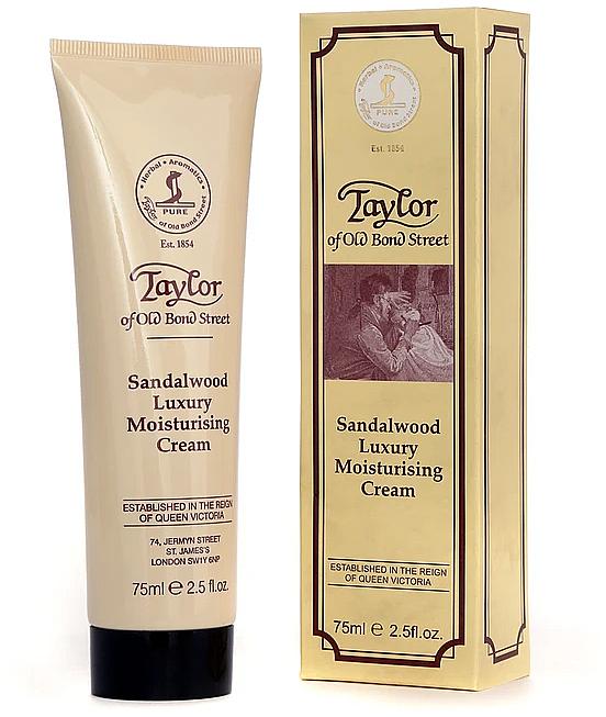 Feuchtigkeitsspendende Gesichtscreme mit Sandelholz - Taylor of Old Bond Street Sandalwood Moisturising Cream