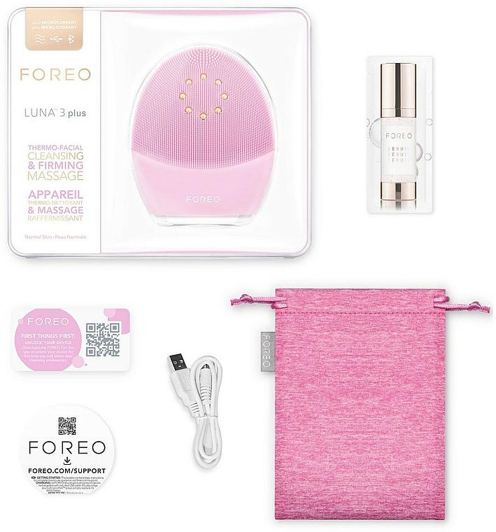 Reinigende und straffende Smart-Massagebürste für normale Gesichtshaut Luna 3 Plus - Foreo Luna 3 Plus Cleansing Brush For Normal Skin — Bild N3