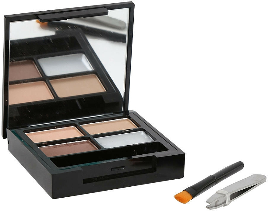 Augenbrauen-Make-up - Makeup Revolution Focus & Fix Brow Kit
