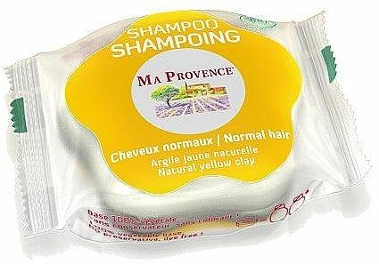 Bio Shampoo für normales Haar mit gelber Tonerde - Ma Provence Shampoo