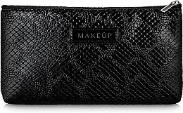 Düfte, Parfümerie und Kosmetik Kosmetiktasche schwarz eben Black Snake - Makeup