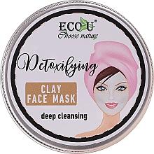 Düfte, Parfümerie und Kosmetik Reinigende Gesichtsmaske mit Tonerde - Eco U Detoxifying Deep Cleansing Clay Face Mask
