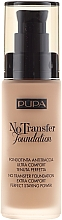 Düfte, Parfümerie und Kosmetik Foundation LSF 15 - Pupa No Transfer Foundation