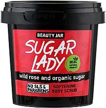 Düfte, Parfümerie und Kosmetik Weichmachendes Körperpeeling mit Bio Zucker und Rosen - Beauty Jar Softening Body Scrub