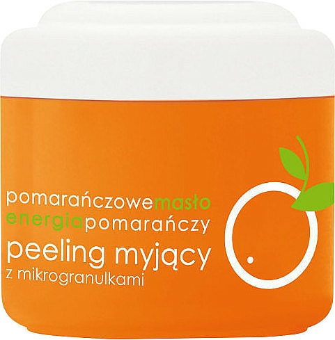 Körperpeeling mit Orangenbutter - Ziaja Body Peeling