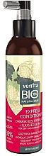Düfte, Parfümerie und Kosmetik Express Conditioner für trockenes und strapaziertes Haar - Venita Bio Natural Damask Rose Hydrolate Express Conditioner