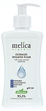 Düfte, Parfümerie und Kosmetik Gel für die Intimhygiene mit Milchsäure und Panthenol - Melica Organic Intimate Hygiene Wash
