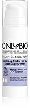 Düfte, Parfümerie und Kosmetik Straffende Augencreme mit Hyaluronsäure - Only Bio Bakuchiol & Squalane Firming Eye Cream